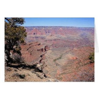 Cartão Opiniões do Grand Canyon
