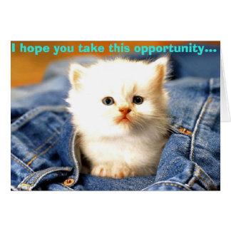 Cartão oportunidade