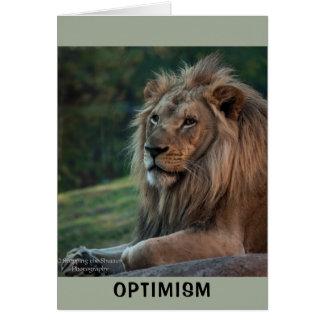 Cartão Optimismo