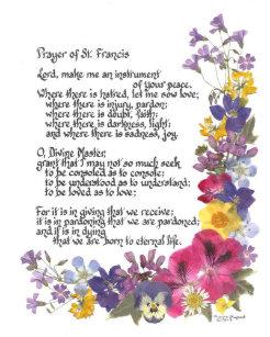 Cartões Oração Santo Francis   Zazzle.com.br 82edf8b00f
