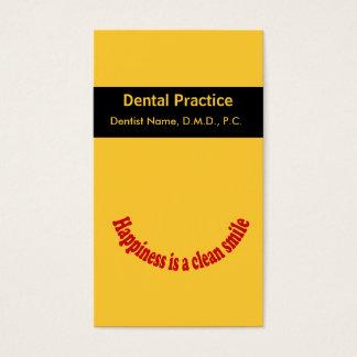 Cartão oral da nomeação do cuidado do dentista