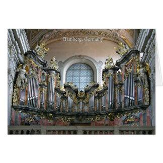 Cartão Órgão de Bamberga