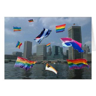 Cartão Orgulho de Baltimore
