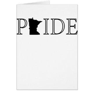 Cartão Orgulho de Minnesota