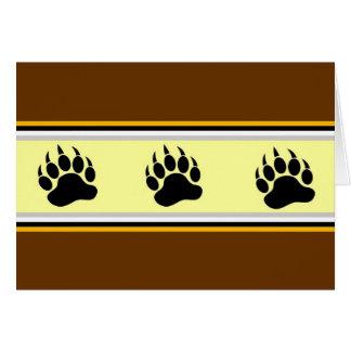 Cartão Orgulho do urso de Amsterdão