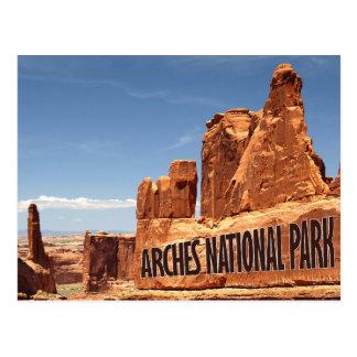 Cartão oriental de Utá do parque nacional dos