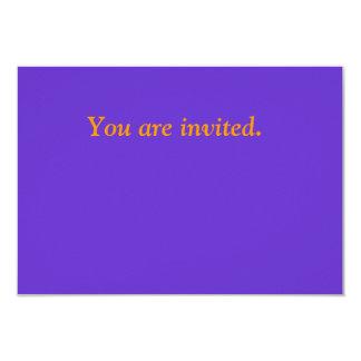 cartão original simples convite 8.89 x 12.7cm
