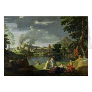 Cartão Orpheus e Eurídice 2