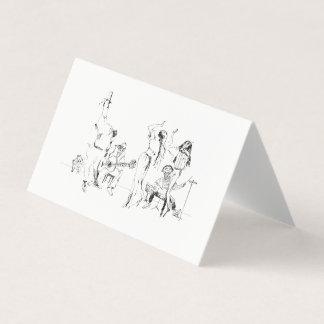 Cartão Orquestra da rua