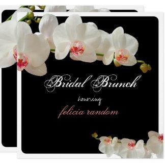 Cartão Orquídeas de PixDezines/refeição matinal