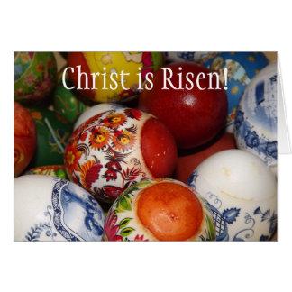 Cartão ortodoxo da páscoa/Pascha