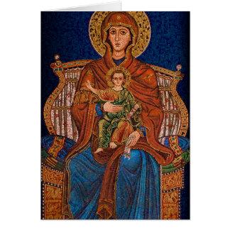 Cartão ortodoxo grego