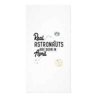 Cartão Os astronautas são em abril Zg6v6 nascidos