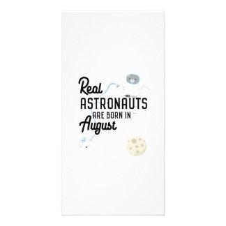 Cartão Os astronautas são em agosto Ztw1w nascidos