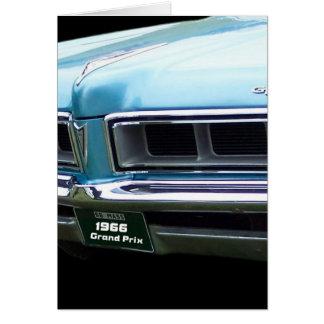 Cartão os auto anos 60 clássicos do gp da imagem