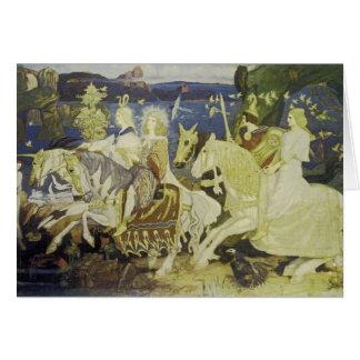 Cartão Os cavaleiros do Sidhe