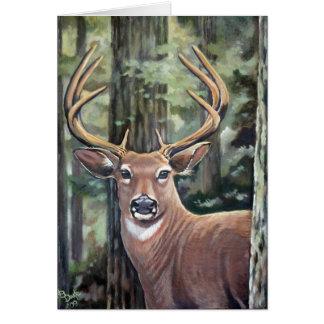 Cartão Os cervos de Lowell