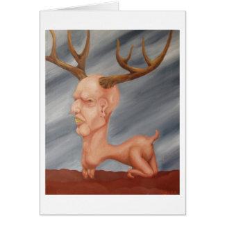 Cartão Os cervos equipam…