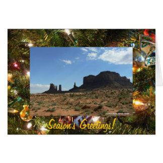 Cartão Os cumprimentos das Montículo-Estações bonitas