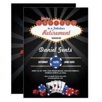 Cartão Os dados do casino de Las Vegas do partido de