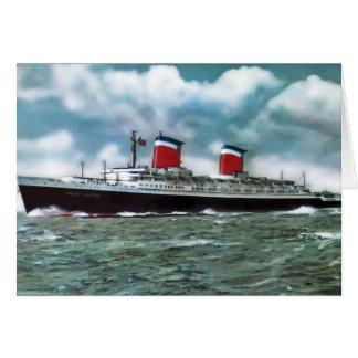 Cartão Os Estados Unidos dos SS