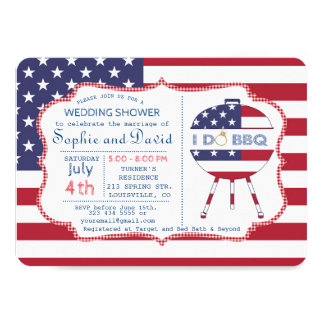 Cartão Os EUA que originais a bandeira 4o do partido de