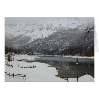 Cartão Os lagos