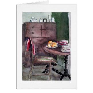Cartão Os limões de Anna: Watercolour por E Gordon-Werner