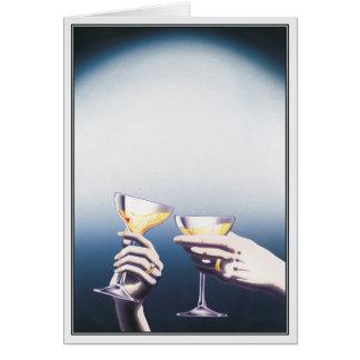 Cartão Os melhores anos de nosso © das vidas
