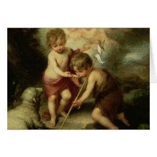 Cartão Os meninos com Shell, c.1670