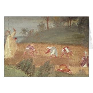 Cartão Os milagre de St. Clare de Assisi