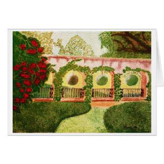 """Cartão Os """"mundos aspiram"""" pintura por Sonja N. Bohm"""