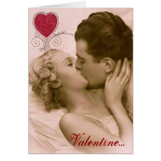 Cartão Os namorados do amante Flirty