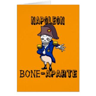 Cartão Osso-aparte de Napoleon