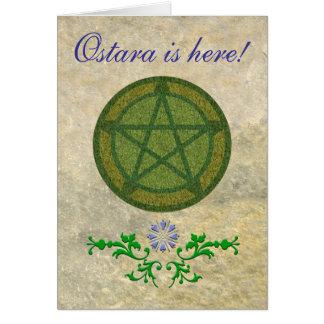 Cartão Ostara está aqui!