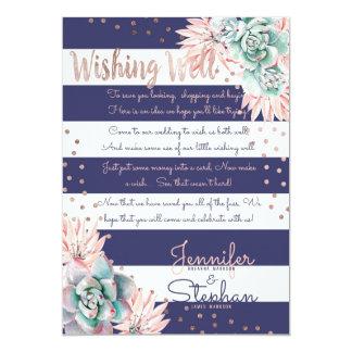 Cartão Ouro cor-de-rosa das listras cor-de-rosa do