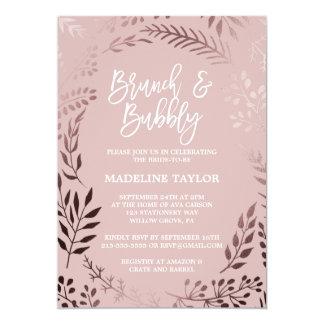 Cartão Ouro cor-de-rosa e refeição matinal cor-de-rosa e