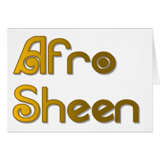 Cartão Ouro de Sist- do brilho do Afro