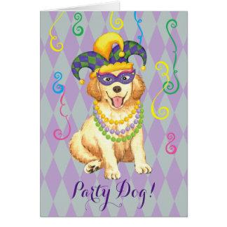 Cartão Ouro do carnaval