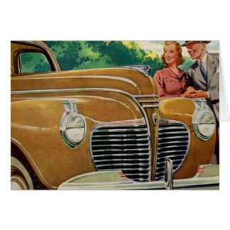 Cartão Ouro GIGANTESCO da mamã e do pai Plymouth 1941