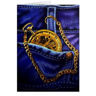 Cartão Ouro Pocketwatch