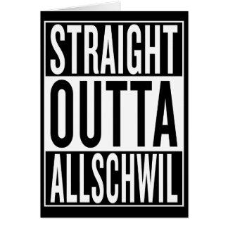 Cartão outta reto Allschwil