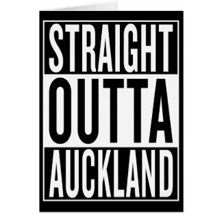 Cartão outta reto Auckland
