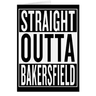 Cartão outta reto Bakersfield