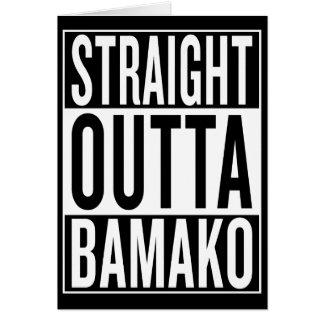 Cartão outta reto Bamako