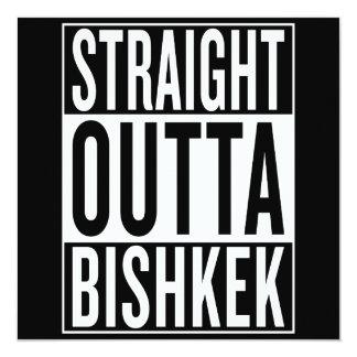 Cartão outta reto Bishkek