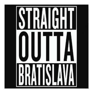 Cartão outta reto Bratislava