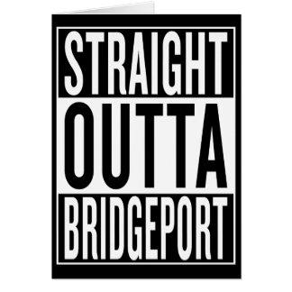 Cartão outta reto Bridgeport