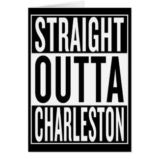 Cartão outta reto Charleston