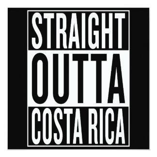 Cartão outta reto Costa Rica